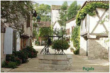 Pujols Village de France en Lot et Garonne