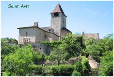 Village de Saint Avit en Lot et Garonne